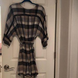 Maeve checkered dress
